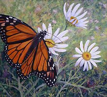 Wanderer Butterfly by Susan Borgas