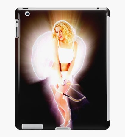 Cupid (Greek Eros) the god of desire, affection and erotic love  iPad Case/Skin