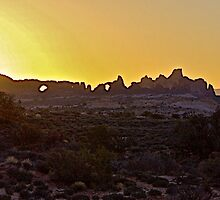 Sunrise Panorama by John Butler