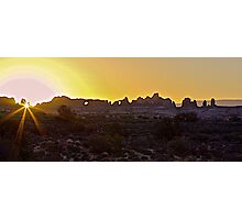 Sunrise Panorama Photographic Print