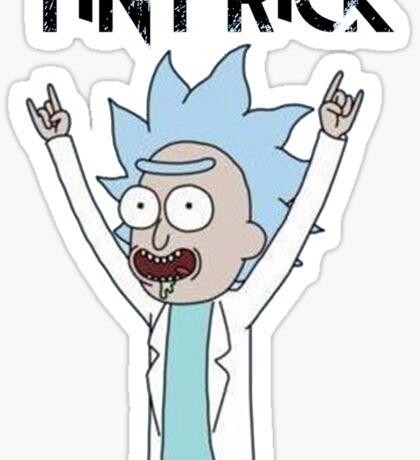 Tiny Rick - Rick and Morty Sticker