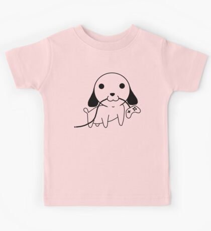 Gamepad Puppy Kids Tee