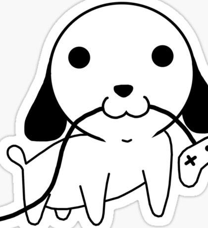 Gamepad Puppy Sticker