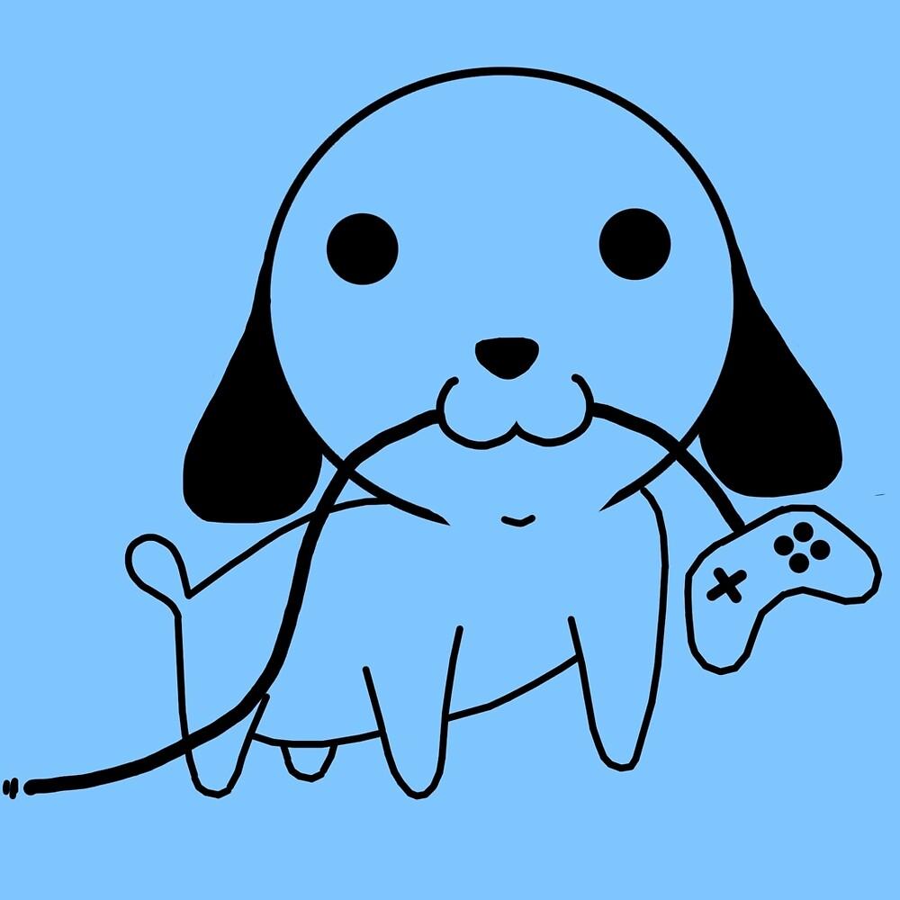 Gamepad Puppy by PengewApparel