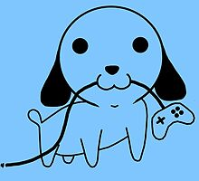 Gamepad Puppy by PengewApparel