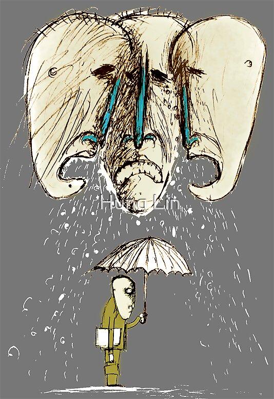 rain by Hung Lin