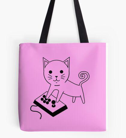 Arcade Kitten Tote Bag
