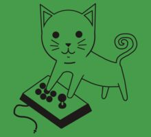 Arcade Kitten One Piece - Short Sleeve