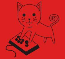 Arcade Kitten One Piece - Long Sleeve