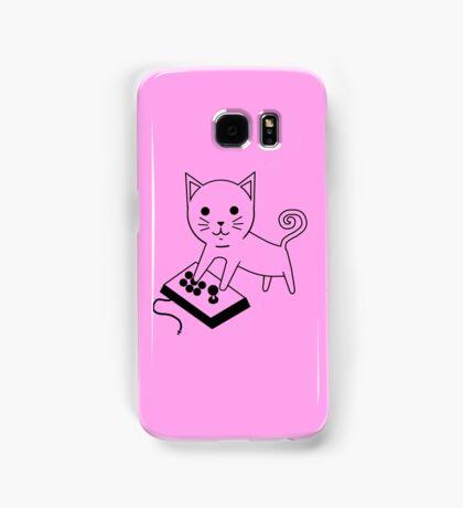Arcade Kitten Samsung Galaxy Case/Skin