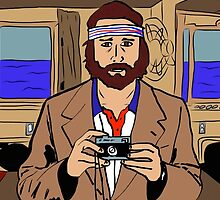 Richie Tenenbaum of The Royal Tenenbaums by ryanthecreator