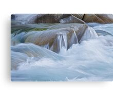 Miniature Cascades Canvas Print