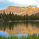 Colorful Mountain Reflection by John Butler