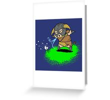 Lil' Dovah Greeting Card