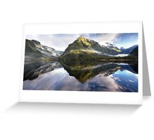 Doubtful Sound - Fiordland Greeting Card