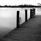 Peaceful Wharf by Diane