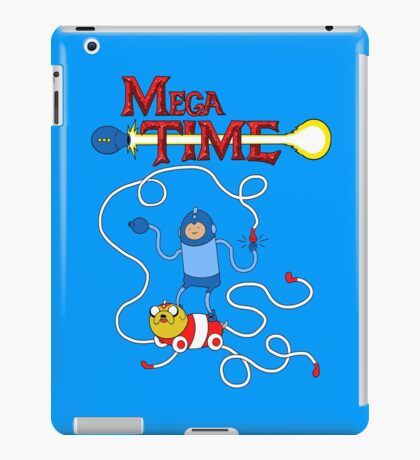 MEGA TIME! iPad Case/Skin