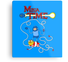 MEGA TIME! Metal Print