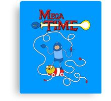 MEGA TIME! Canvas Print