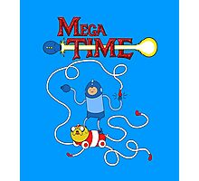 MEGA TIME! Photographic Print