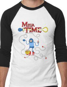 MEGA TIME! Men's Baseball ¾ T-Shirt