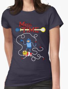 MEGA TIME! Womens Fitted T-Shirt