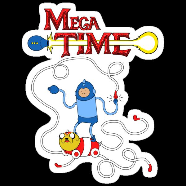 MEGA TIME! by PengewApparel