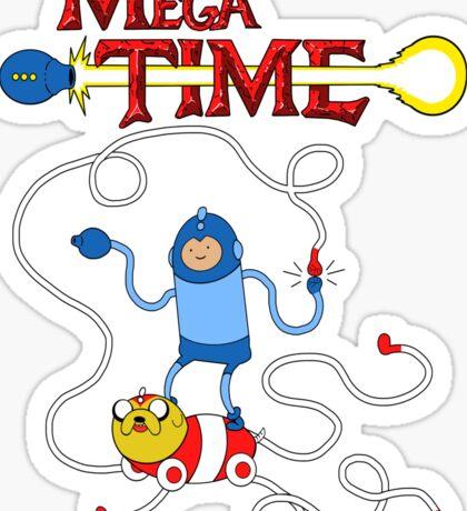 MEGA TIME! Sticker