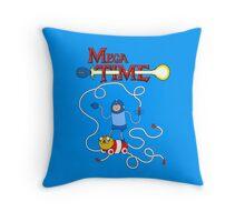 MEGA TIME! Throw Pillow