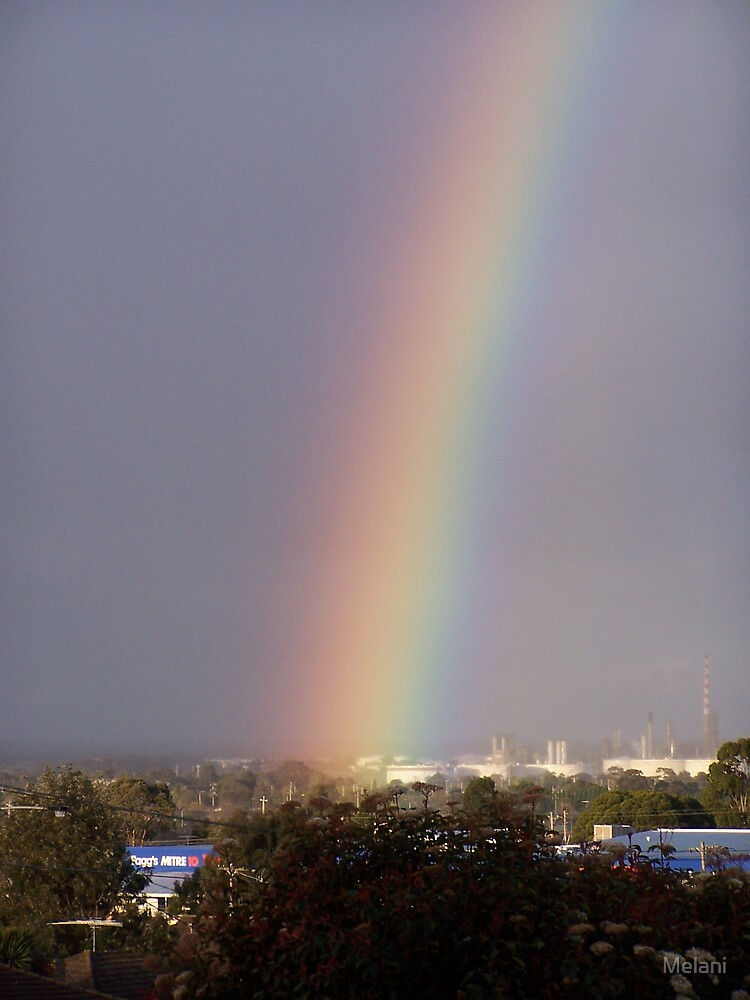Is that the pot of gold? by Melani