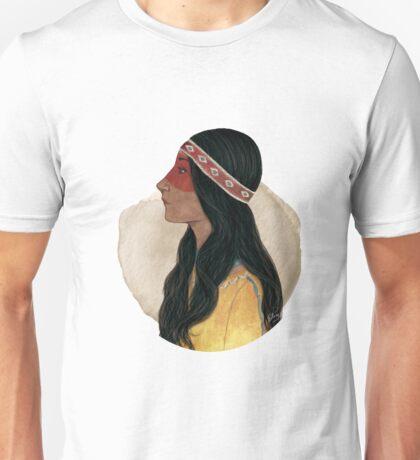 Native American Woman Unisex T-Shirt