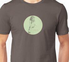 polly-anna (b/w vintage green) Unisex T-Shirt