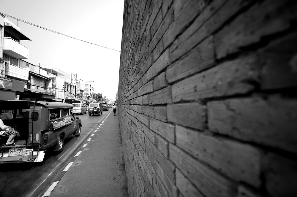 City Wall by RonnySimulacrum