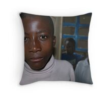 Orphan, Mamaan Jeanne's orphanage, Congo. www.healafrica.com Throw Pillow