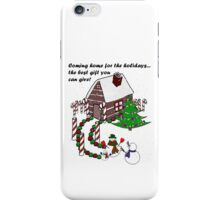 Snowman - Homecoming for the Holidays iPhone Case/Skin