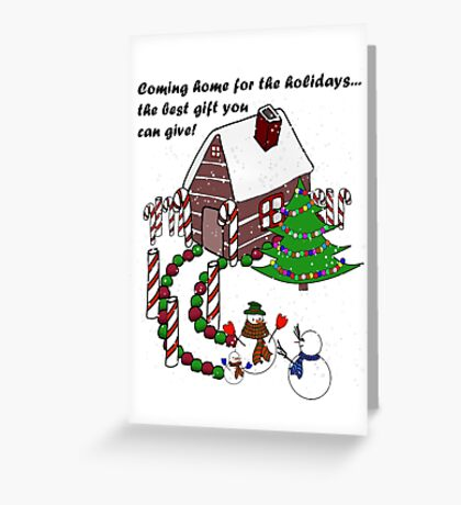 Snowman - Homecoming for the Holidays Greeting Card