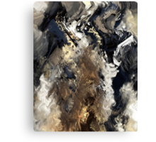Concretion Canvas Print