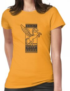 Camp Half-Blood Shirt (Black Design) Womens Fitted T-Shirt