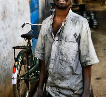 Working man by Anthony Begovic
