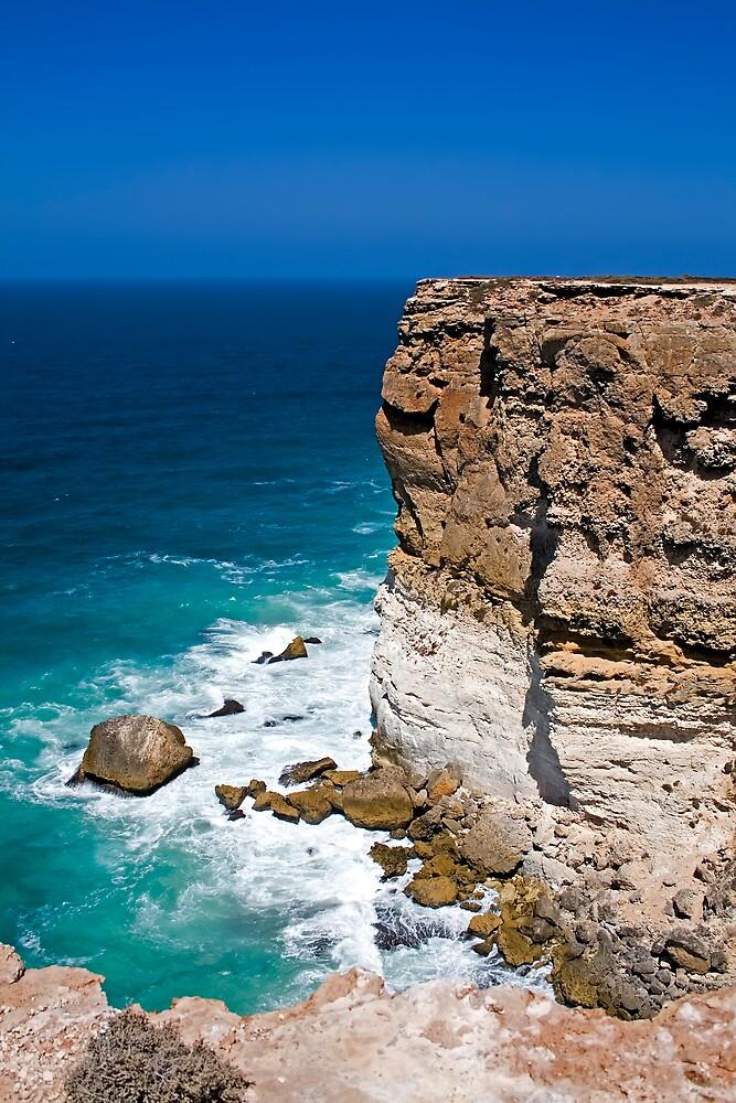Nullarbor Cliffs by Mark Baker