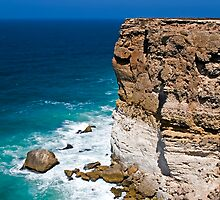 Nullarbor Cliffs by Mark Baker