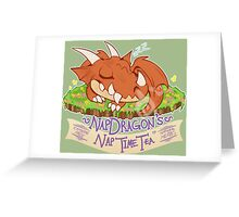 Napdragon's Nap Time Tea [Fantasy Life] Greeting Card