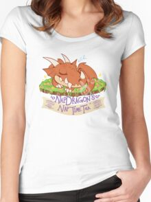 Napdragon's Nap Time Tea [Fantasy Life] Women's Fitted Scoop T-Shirt