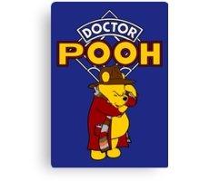 Doctor Pooh Canvas Print
