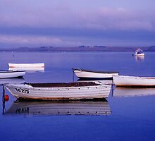 Tranquility - Swan Bay - Queenscliff - Victoria by James Pierce