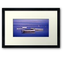 Tranquility - Swan Bay - Queenscliff - Victoria Framed Print