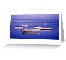 Tranquility - Swan Bay - Queenscliff - Victoria Greeting Card