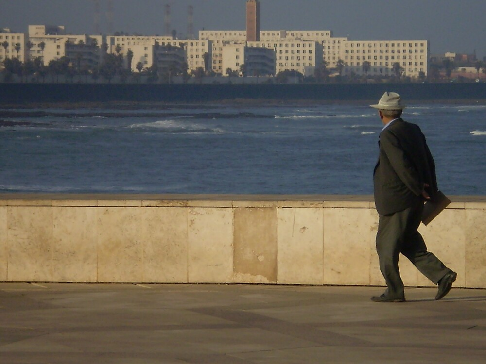 Moroccan Man and the Sea by Tim Marshall