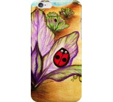 L is for Ladybug iPhone Case/Skin