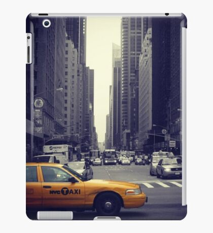 New York Vintage Taxi Cab iPad Case/Skin